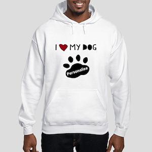 Personalized Dog Hooded Sweatshirt