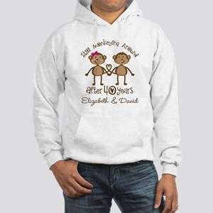 40th Anniversary Funny Personalized Gift Sweatshir