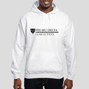 Phi Mu Delta Class of XXXX Perso Hooded Sweatshirt