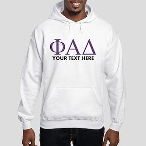 Phi Alpha Delta Personalized Hooded Sweatshirt
