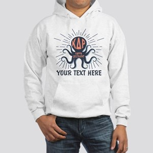 KDR Octopus Personalized Hooded Sweatshirt