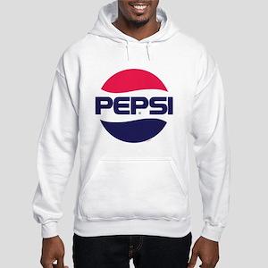 Pepsi 90s Logo Hooded Sweatshirt