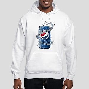 Pepsi Can Doodle Hooded Sweatshirt