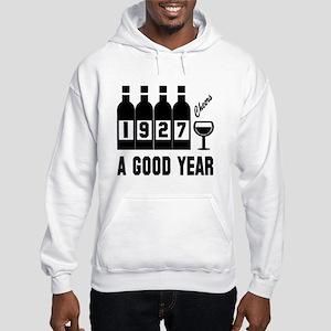 1927 A Good Year, Cheers Hooded Sweatshirt