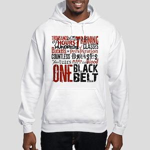 ONE BLACK BELT Hooded Sweatshirt