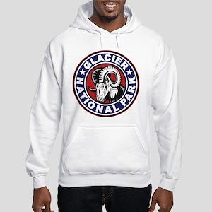 Glacier Red White & Blue Circle Hooded Sweatshirt
