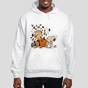 Fall Peanuts Hooded Sweatshirt