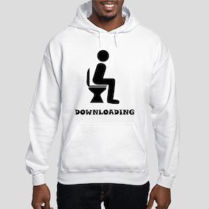 Downloading Sweatshirt