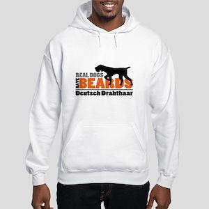 Real Dogs Have Beards - DD Hooded Sweatshirt