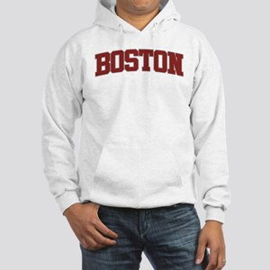 BOSTON Design Hooded Sweatshirt