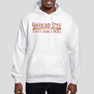 Greenland Style Hooded Sweatshirt