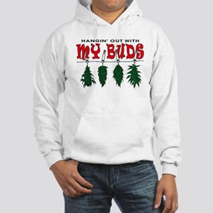 Hangin Out with My Buds Hooded Sweatshirt