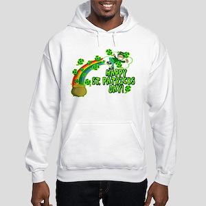 Happy St. Patrick's Day Classic Hooded Sweatshirt
