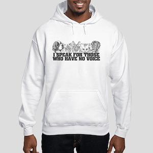 Animal Voice Hooded Sweatshirt