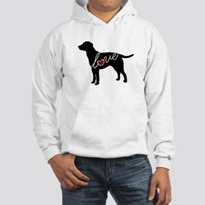 Labrador Love Hooded Sweatshirt