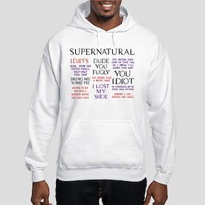 Supernatural Quotes Hooded Sweatshirt