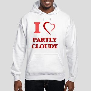 I love Partly Cloudy Sweatshirt