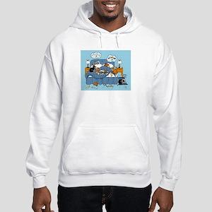 collie CRAZY Hooded Sweatshirt