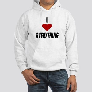I Heart Everything Hooded Sweatshirt