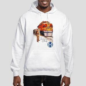 Vintage poster - Santa Fe Hooded Sweatshirt