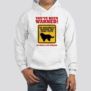 Bergamasco Sheepdog Hooded Sweatshirt