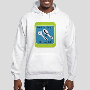 Fork or Spoon Hooded Sweatshirt
