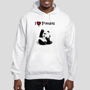 Baby Panda Hooded Sweatshirt
