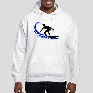 Wave Surfing Hooded Sweatshirt