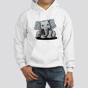 KiniArt Elephant Hooded Sweatshirt