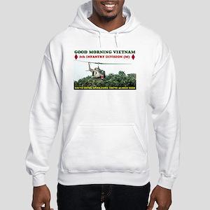 5th INFANTRY DIV VIETNAM Hooded Sweatshirt