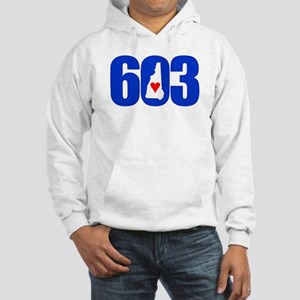 603 NEW HAMPSHIRE LOVE Hoodie