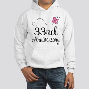 33rd Anniversary Butterfly Hooded Sweatshirt