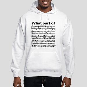 Partiture Hooded Sweatshirt