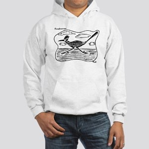 Roadrunner Illustration Hooded Sweatshirt