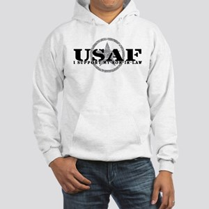 I Support Son-in-Law - Air Force Hooded Sweatshirt
