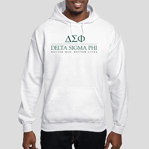 Delta Sigma Phi Letters Hooded Sweatshirt