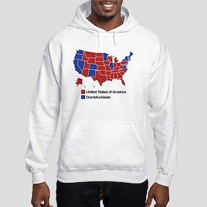 Map of Dumbfuckistan Sweatshirt