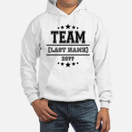 Personalized Family Hooded Sweatshirt