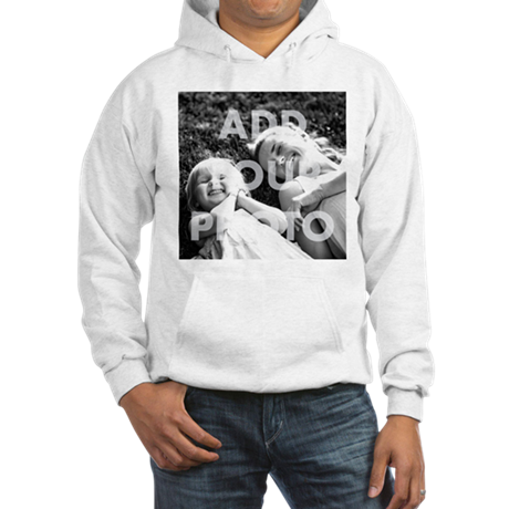 Add Your Photo Hooded Sweatshirt