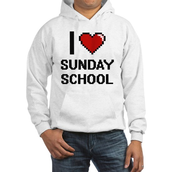I love Sunday School Digital Design