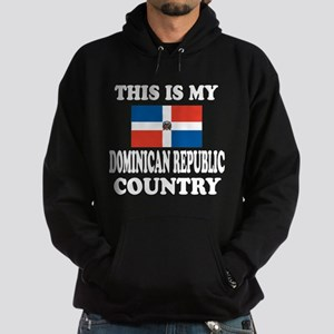 This Is My Dominican Republic Countr Hoodie (dark)
