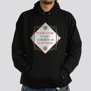 Family Christmas Personalized Hoodie (dark)