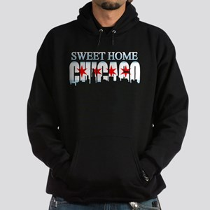 Sweet Home Chicago Flag Skyline Hoodie