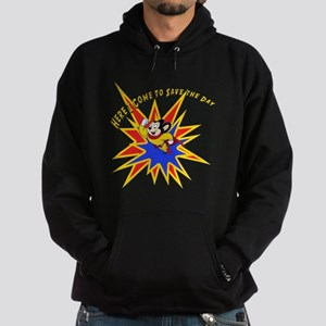 Mighty Mouse Save the Day Hoodie (dark)