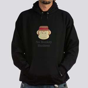 No Monkey Business Hoodie
