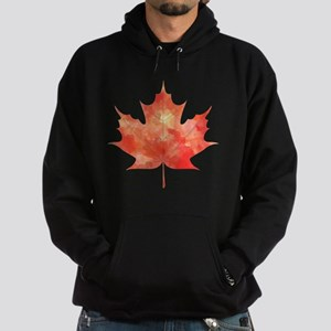 Maple Leaf Art Hoodie (dark)