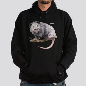 Opossum Possum Animal Hoodie (dark)