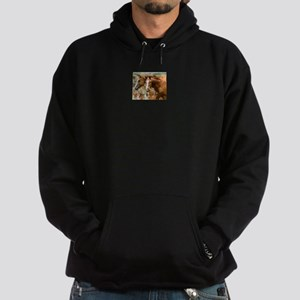 It's Just Me & You Horse Gift Hoodie (dark)