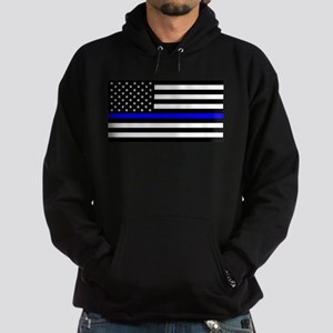 Police: Black Flag & The Thin Blue Line Hoodie