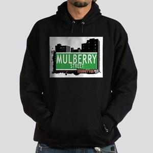 MULBERRY STREET, MANHATTAN, NYC Hoodie (dark)
